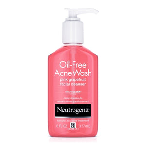 Neutrogena Oil-Free Acne Wash Facial Cleanser - Pink Grapefruit (6 fl. oz.)