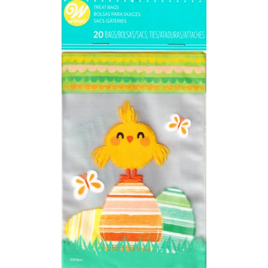 Easter Eggs/Chick Party Favor Treat Bags (20 Pack)
