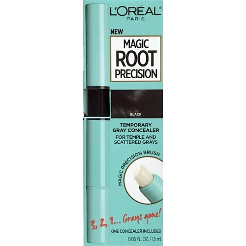 Magic Root Precision Temporary Gray Concealer (Soft to Jet Black) For Temple and Scattered Grays