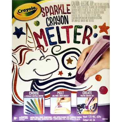 Sparkle Crayon Melter Kit (Create Melted Crayon Art!)