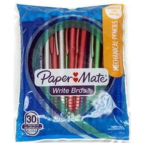 Paper Mate Write Bros #2 Mechanical Pencils (30 Pack)