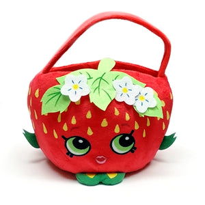 Shopkins Strawberry Kiss Plush Basket