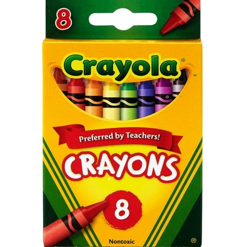 Non-toxic Crayons (8 Pack) Preferred by Teachers! with Free Local Delivery in Champaign & Vermilion County IL.