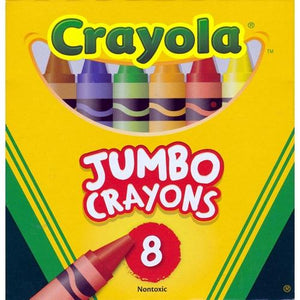 Non-toxic Jumbo Crayons (8 Pack) Preferred by Teachers! with Free Local Delivery in Champaign & Vermilion County IL.
