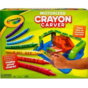 Motorized Crayon Carver (Carve Words & Designs on Crayons!) with Free Local Delivery in Champaign & Vermilion County IL.