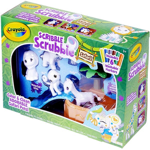 Scribble Scrubbie Safari Kit (Real Working Scrubbie Oasis)