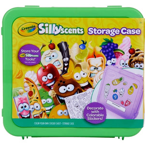 Crayola Silly Scents Storage Case (Includes Colorable Stickers)