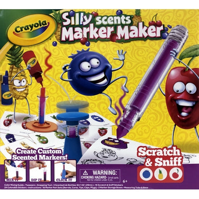 Silly Scents Marker Maker Kit (Makes 16 Scented Markers) For ages 6+