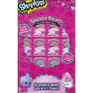 Shopkins Party Favor Sticker Treats (20 Pack) with Free Local Delivery in Champaign & Vermilion County IL.