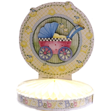 Baby Shower Baby Carriage Table Decor Centerpiece Party Favor (9