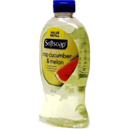 Softsoap Liquid Hand Soap - Crisp Cucumber & Melon (11.25 fl. oz.) Value Refill