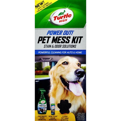 Power Out Pet Mess Kit (3-Piece Kit) Safe Cleaning for All Pet Messes