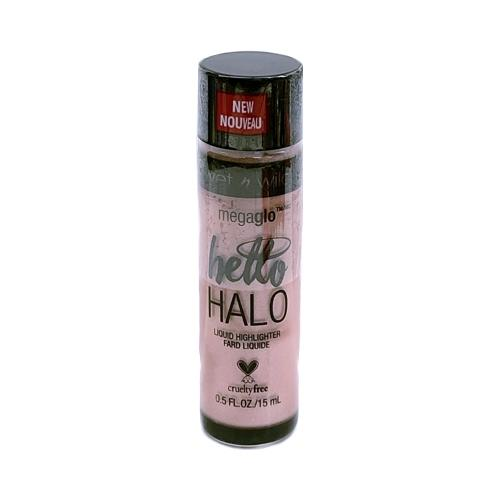 Wet N Wild MegaGlo Hello Halo Liquid Highlighter (0.5 fl. oz.) Select Color