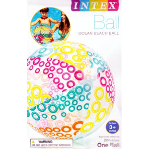 "20"" Ocean Beach Ball (Classic, Circles or Polka Dot)"