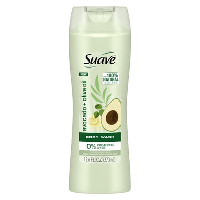 Suave Avocado + Olive Oil Body Wash (12.6 fl. oz.)