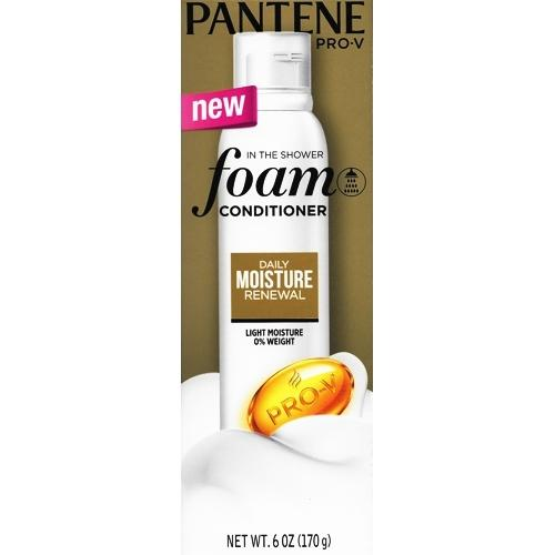 Pantene Pro-V Daily Moisture Renewal In the Shower Foam Hair Conditioner (6 oz.)