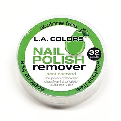 Nail Polish Remover Pads Pear Scent (32 Pack)