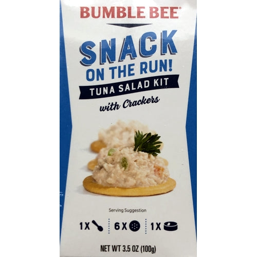 Tuna Salad Kit with Crackers (Net Wt. 3.5 oz.) Snack on the Run!
