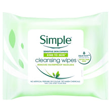 Simple Kind to Skin Face Cleansing Wipes (25 Pack)