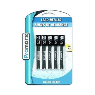 Promarx #2 Lead Refills - 0.7 mm (60 Pack)