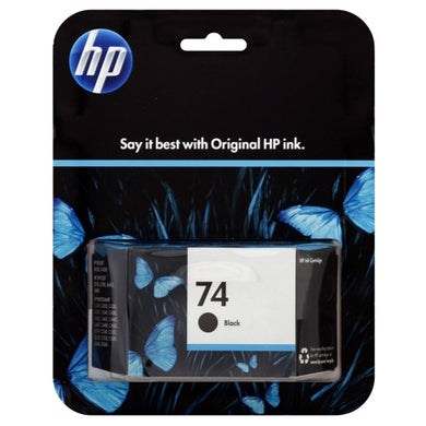 HP 74 Ink Cartridge - Black (For Select HP DeskJet, OfficeJet, PhotoSmart Printers) with Free Local Delivery in Champaign & Vermilion County IL.