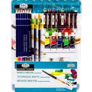Mixed Media Artist Kit with Artist Pad (25 Pieces) with Free Local Delivery in Champaign & Vermilion County IL.