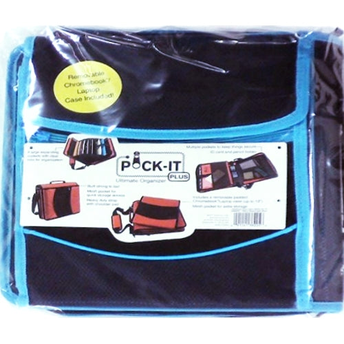 Pocket-It Plus Ultimate Notebook Binder with Zipper Pockets/Expanding File/Laptop Case (Select Color)