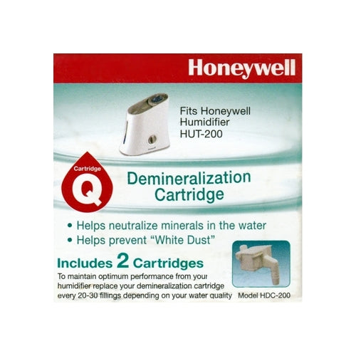 Honeywell Demineralization Cartridge for Humidifier HUT-200, HUT-220 Series (2 Pack)