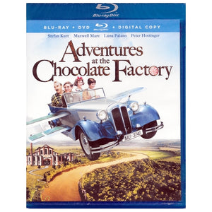 Adventures at the Chocolate Factory (Blu-Ray Disc + DVD + Digital Copy Combo)
