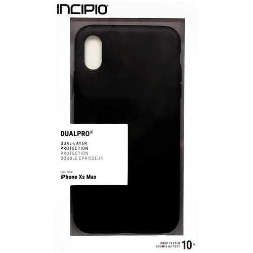 DualPro Dual-Layer Protection for iPhone Xs Max (Black)