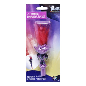 Trolls World Tour Queen Barb Pencil Topper & Cap Eraser