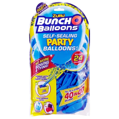 Bunch O Balloons Self-Sealing Party Balloons (24 Pack) Select Color