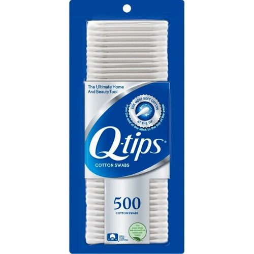 Q-tips Cotton Swabs (500 Pack)