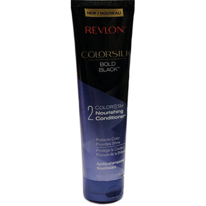 Colorsilk Bold Black Colorstay Nourishing Conditioner (8.45 fl oz.) For All Black Shades