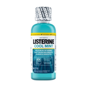 Listerine Antiseptic Mouthwash - Cool Mint (3.2 fl. oz.) Travel Size