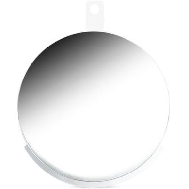 Modern by Dwell Magazine Round Metal Shelf Wall Mirror (White) 20% to 80% Off at DollarFanatic.com America's Online Dollar Store