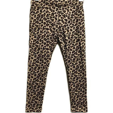 Girl's Leopard Print Leggings Pants (Select Size) with Free Local Delivery in Champaign & Vermilion County IL.