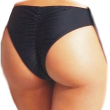 Black Extra Cheeky String Bikini Bottom Women's Size Small with Free Local Delivery in Champaign & Vermilion County IL.
