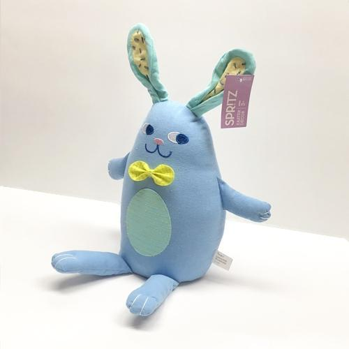 Sitting Blue Easter Bunny (19