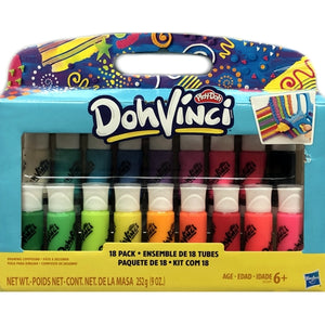Play-Doh DohVinci Drawing Compound Set (18 Pack)