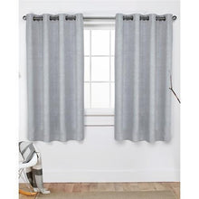 "Oxford Embossed Textured Insolated Woven Blackout Grommet Top Window Curtain Panels (52"" x 63"") 20% to 80% Off at DollarFanatic.com America's Online Dollar Store"