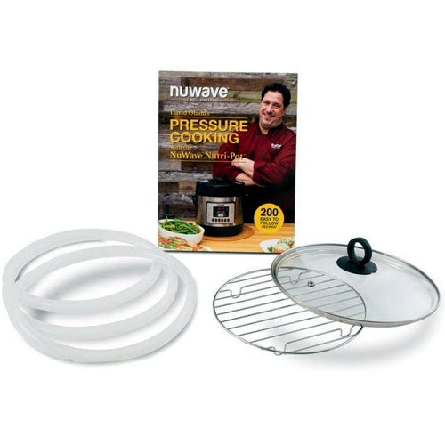 NuWave Nutri-Pot 6Q Pressure Cooker Accessory Kit (6-Piece)