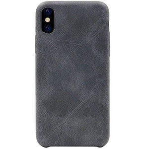 iPhone X Premium Certified Italian Leather Phone Case (Grey) 20% to 80% Off at DollarFanatic.com America's Online Dollar Store