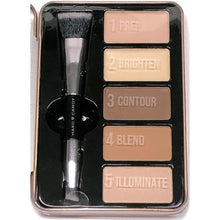 Hard Candy Look Pro! Ultimate Contour and Sculpt Kit (Light to Medium)