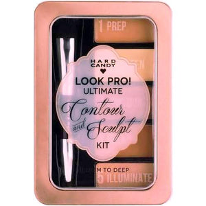 Hard Candy Look Pro! Ultimate Contour and Sculpt Kit (Medium to Deep)