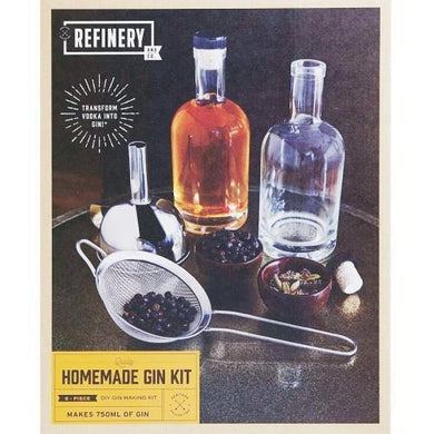 Refinery and Co. Quality DIY 6-Piece Homemade Gin Making Kit with Free Local Delivery in Champaign & Vermilion County IL.