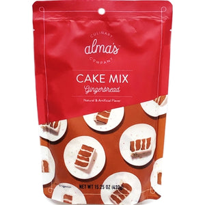 Alma's Cake Mix - Gingerbread (Net wt. 15.25 oz.)
