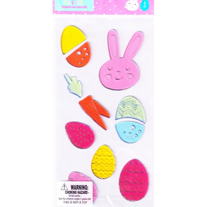 Easter Bunny/Easter Eggs Gel Clings Set (11 count)