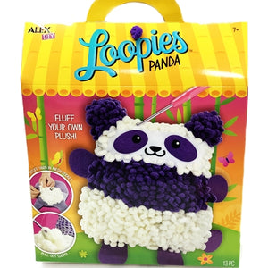 Loopies Panda DIY Craft Kit (Fluff Your Own Plush)