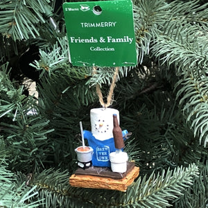 S'mores Marshmallow Man Christmas Ornament (Friends & Family Collection)